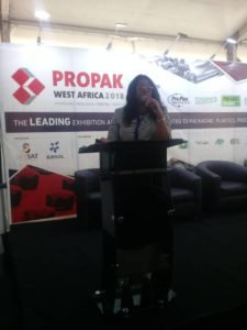 Mrs Joan Ihekwaba, Managing Director UAC Restaurant