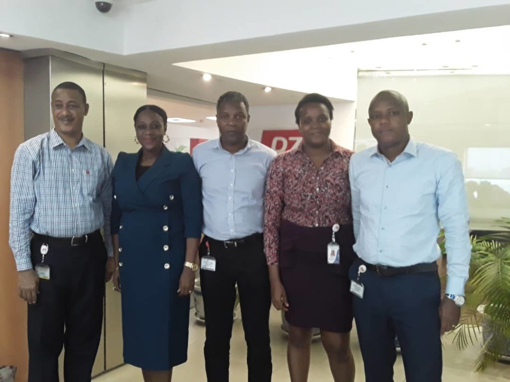 Tihir Mohammed; External Affairs- General Manager PZ Cussons, Ediri Ose-Ediale; ADVAN Executive Secretary, Alex Goma; Group Executive Director Corporate Strategy and External Relations PZ Cussons, Ijeoma Eze; Category Development and Innovation Manager, HPZ and Charles Nnochiri; Head of Marketing, PZ Cussons